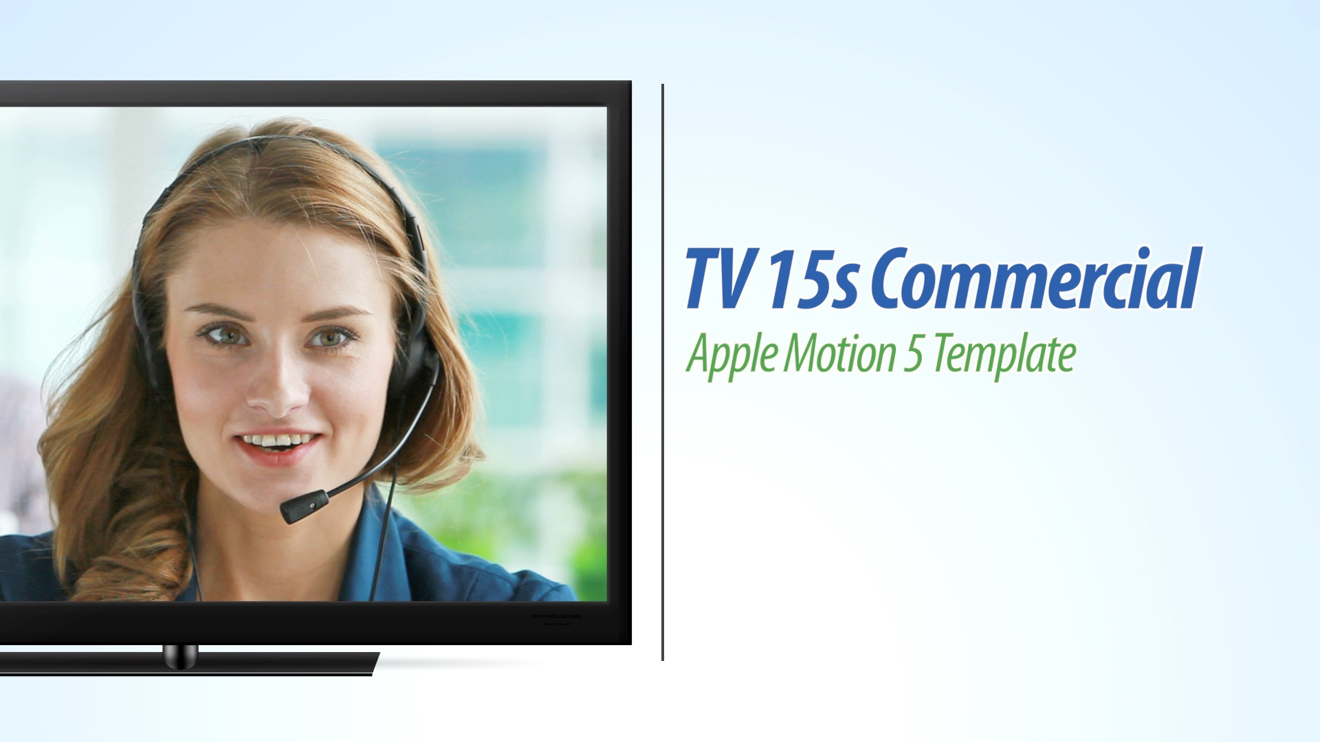 tv hd 15s text version final cut and apple motion template. Black Bedroom Furniture Sets. Home Design Ideas