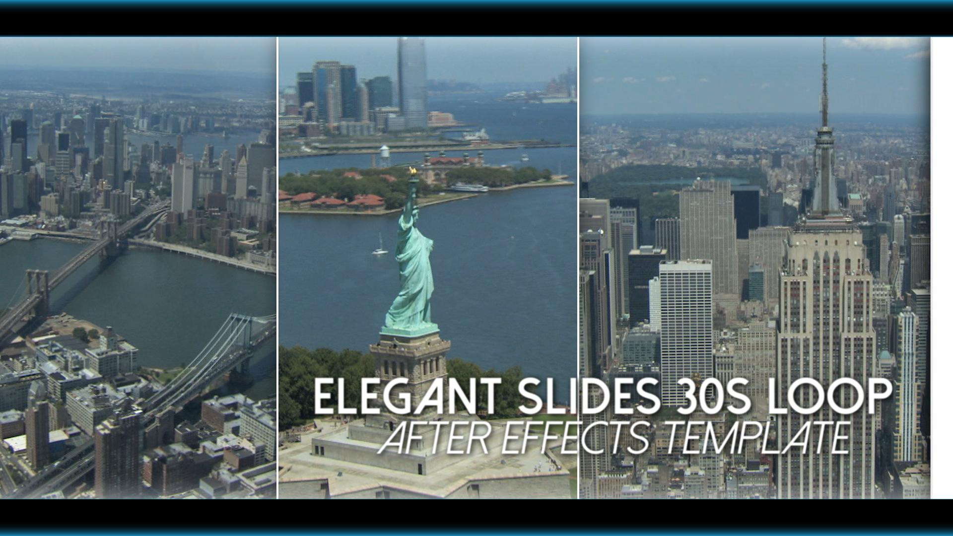 elegant slides 30s loop after effects template. Black Bedroom Furniture Sets. Home Design Ideas