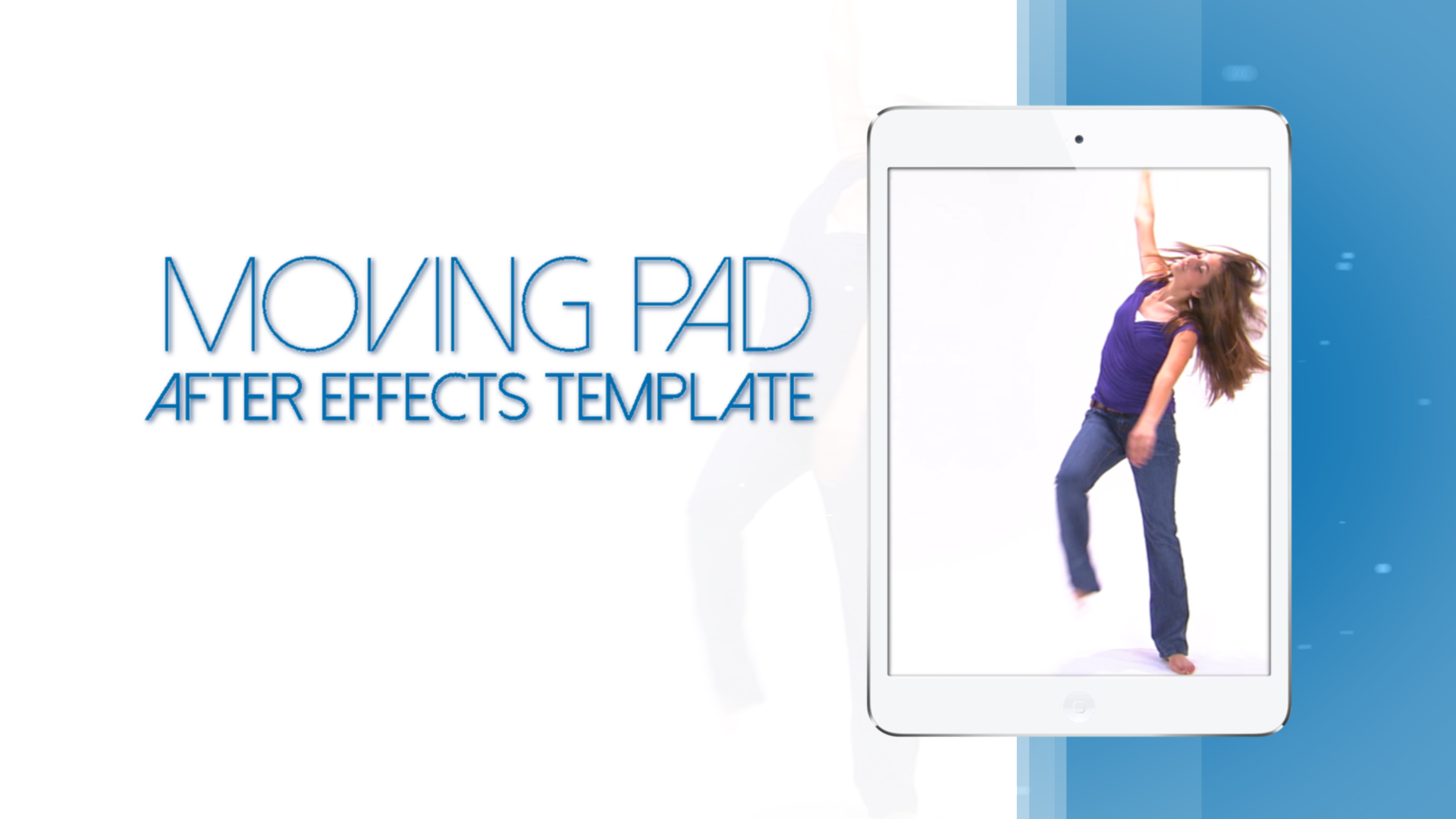 Moving Pad S Commercial White Edition - After effects commercial template