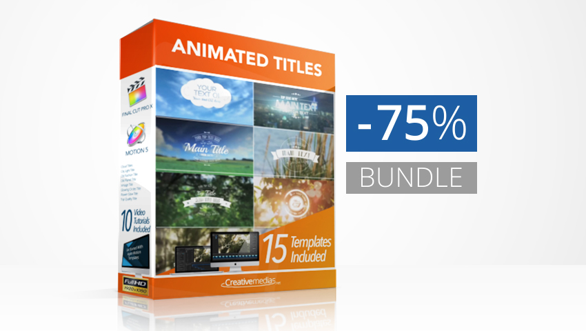Animated Template Titles Bundle