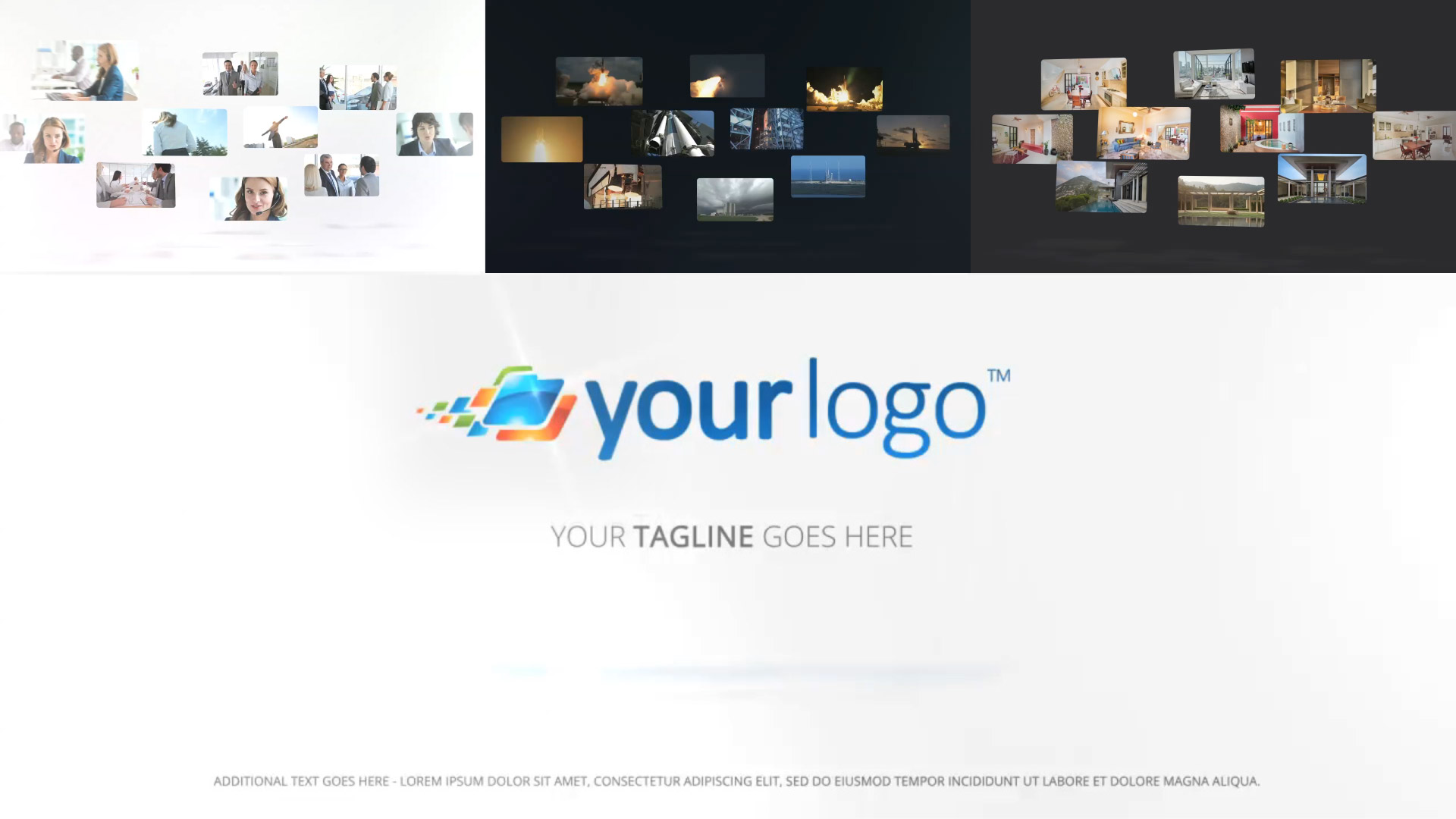 Multi Media Logo Reveal - Final Cut and Apple Motion Template