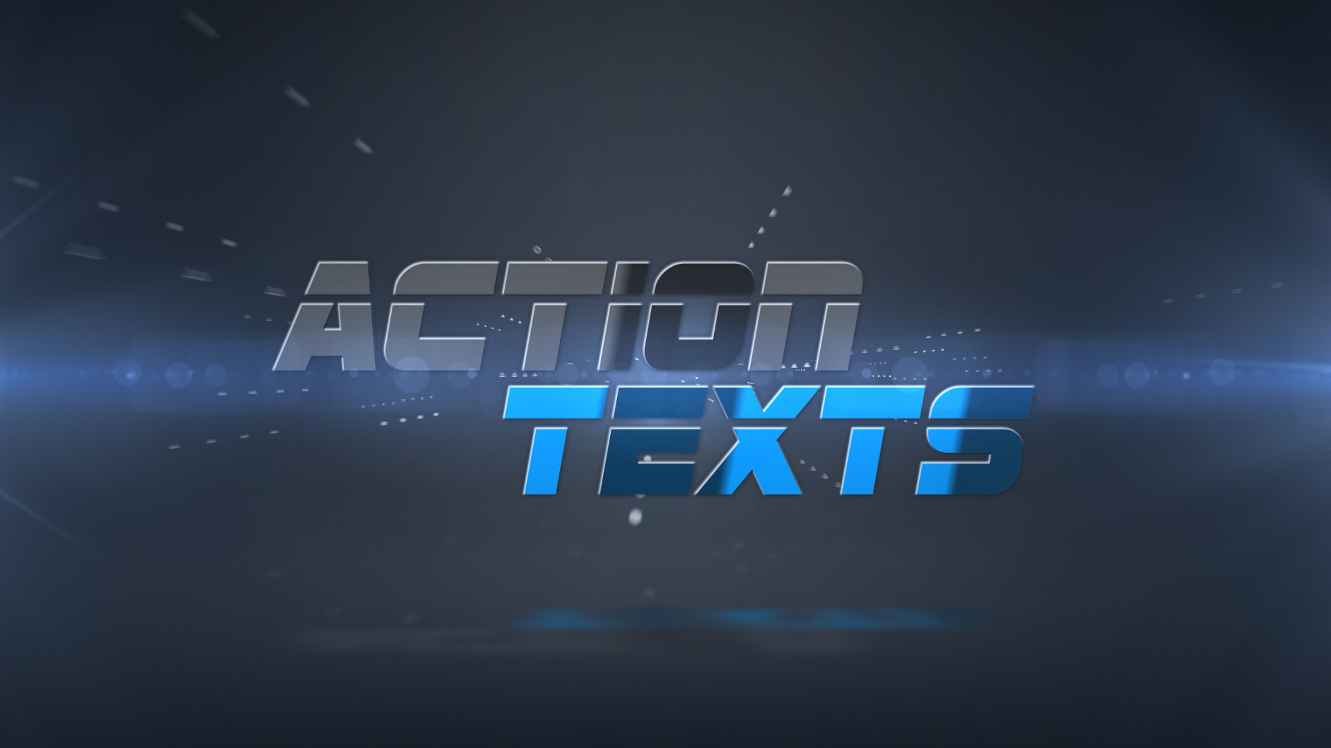 Action Texts Final Cut And Apple Motion Template