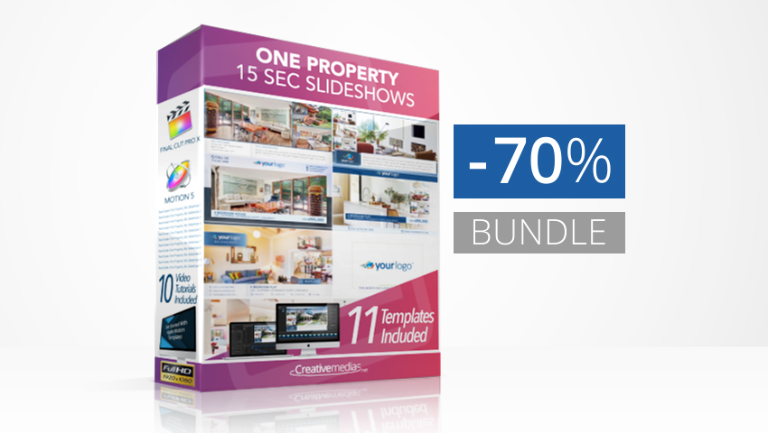 Real Estate One Property 15s Slideshows Bundle