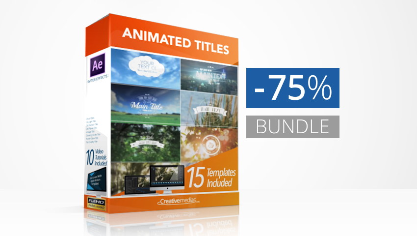 Animated Titles Bundle
