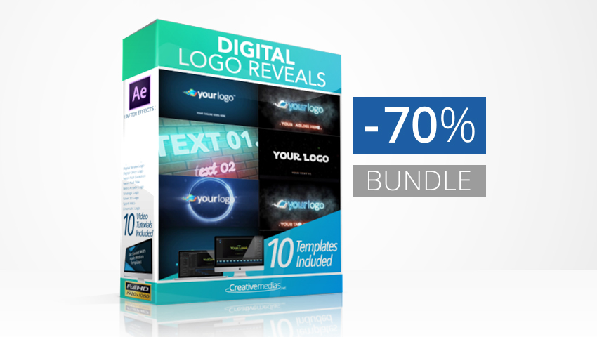 Digital Logo Reveals Bundle
