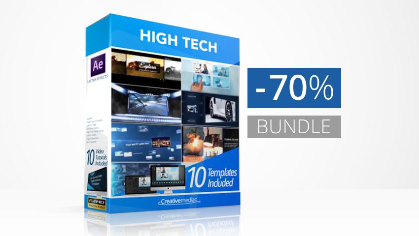 High Tech Logos Bundle